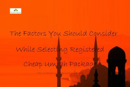 Cheap Umrah Package